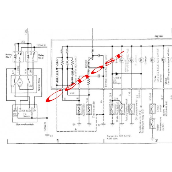 Daihatsu Charade G100 G102 G112 Wiring Diagram Schematics and